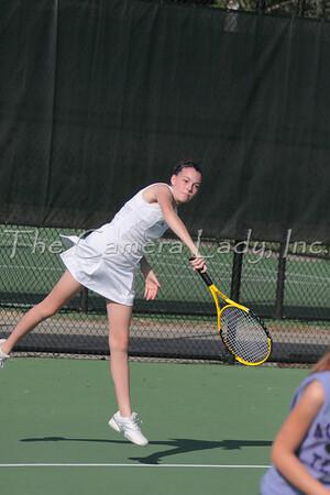 CHCA 2009 MS Girls Tennis vs Walnut Hills 09.17