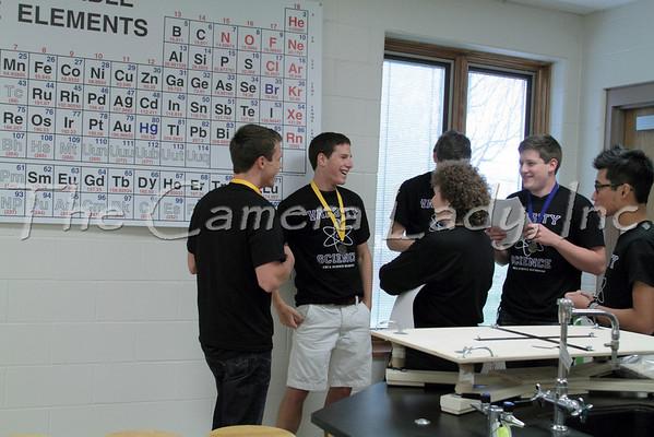 CHCA 2011 MSL Math Olympics Team