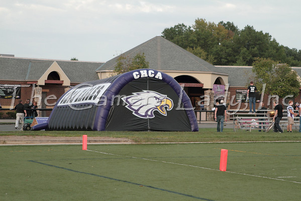 CHCA 2011 Varsity Football vs Liberty 09.09