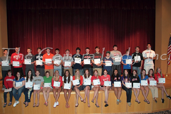 CHCA 2012 HS Class of 2012 Academic Signings 04.30