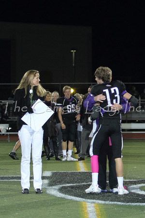 CHCA 2012 Senior Fall Sports Night 10.12