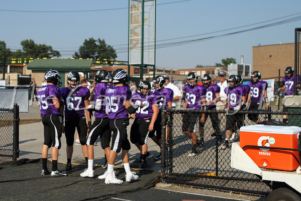 CHCA 2012 Var Football - Crosstown vs Madeira 08.23