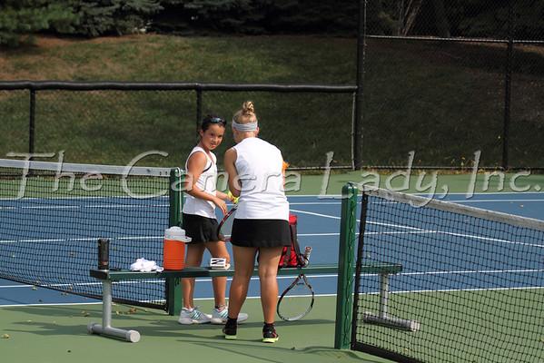 CHCA 2012 MS Girls Tennis vs Loveland 09.06