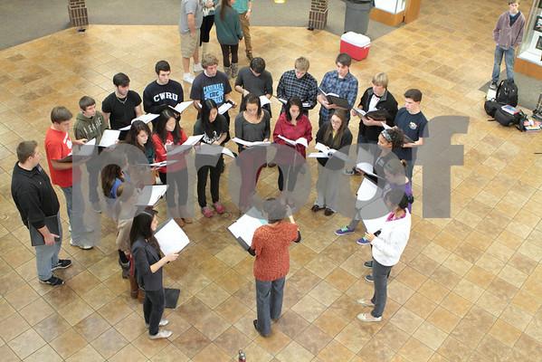CHCA 2012 HS Christmas Caroling 11.20