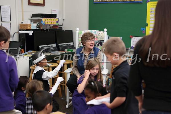 CHCA 2013 EBL 1st Grade Colonial Days 11.26