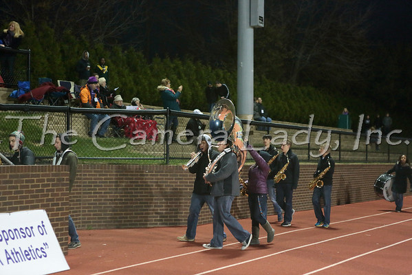 CHCA 2013 HS Pep Band vs Clark 10.25