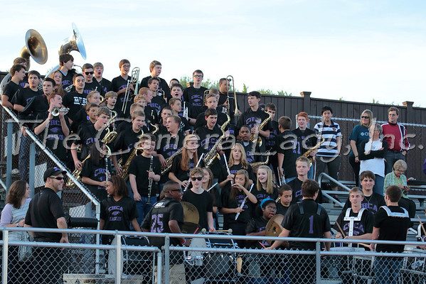 CHCA 2013 HS Pep Band vs Reading 09.06