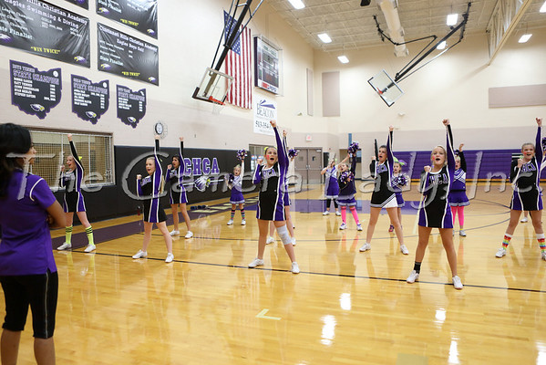 CHCA 2013 Var Cheerleaders vs Lockland 10.11