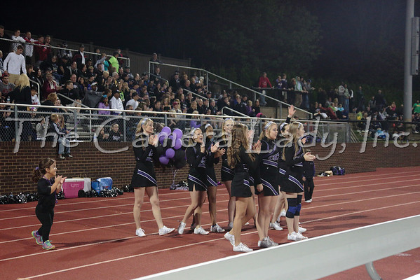 CHCA 2013 Var Cheerleaders vs Indian Hill 09.14