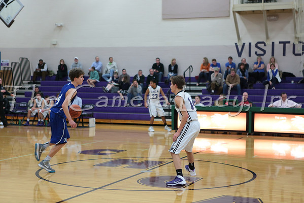 CHCA 2013 Boys Fr Baskball vs St. X 12.19