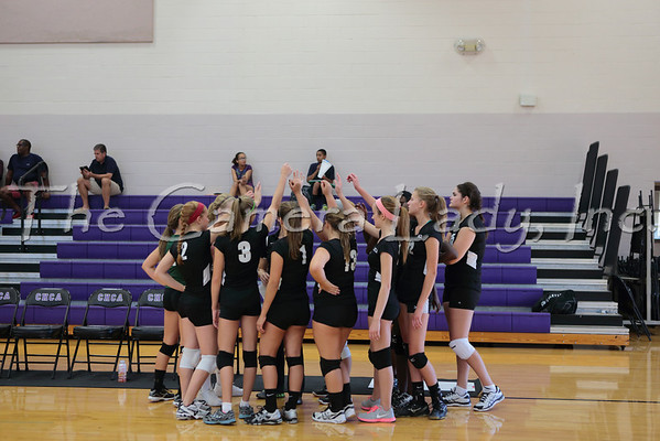 CHCA 2013 Girls JV Volleyball vs Summit 09.03