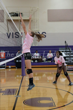 CHCA 2013 Girls JV Volleyball vs CCDS 10.03