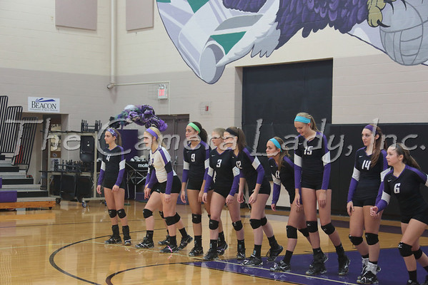 CHCA 2013 Var Volleyball vs CCS 10.10