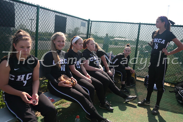 CHCA 2014 Var Softball vs St. Bernard 04.14