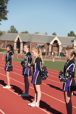 CHCA 2013 MS Cheer vs Lockland 10.09