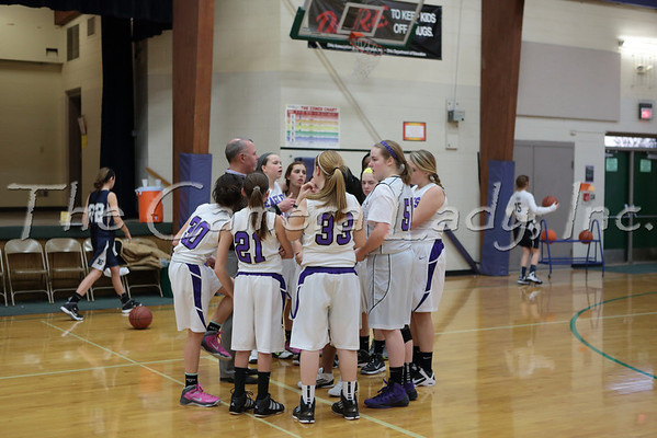 CHCA 2013 MS Girls B Basketball vs Edgewood