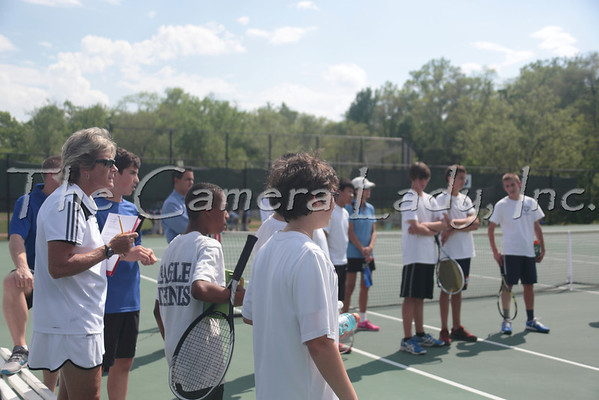 CHCA 2014 MS Boys Tennis vs Seven Hills Invite