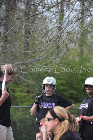 CHCA 2014 MS Softball vs Seven Hills 04.24