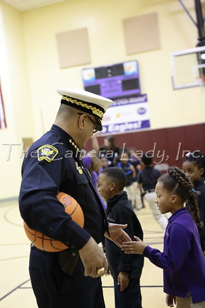 CHCA 2015 Armleder Visit from Chief of Police 03.06