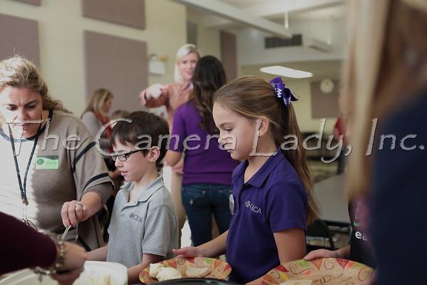 CHCA 2014 3rd Grade Thanksgiving Feast 11.25