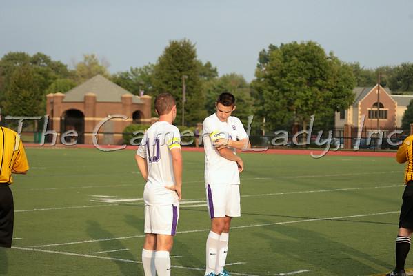 CHCA 2014 Boys Var Soccer vs DC 08.21