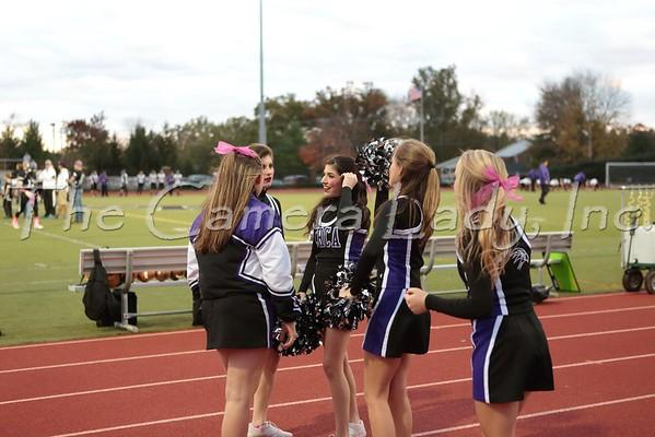 CHCA 2014 HS Football Cheer vs DC 10.17