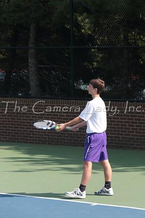 CHCA 2015 Boys JV Tennis vs Moeller 04.29