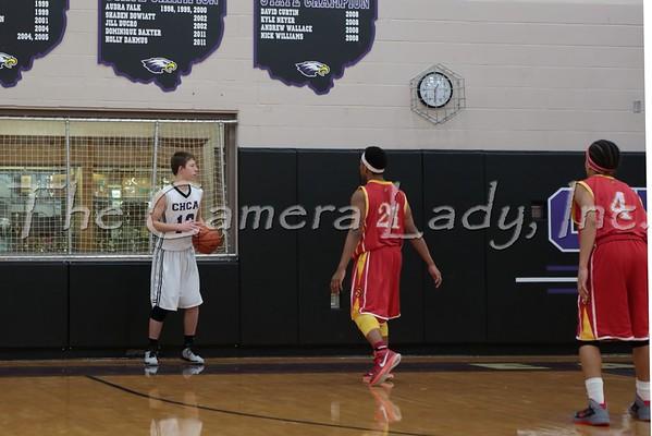 CHCA 2015 HS Fr Basketball 01.27 vs NCH