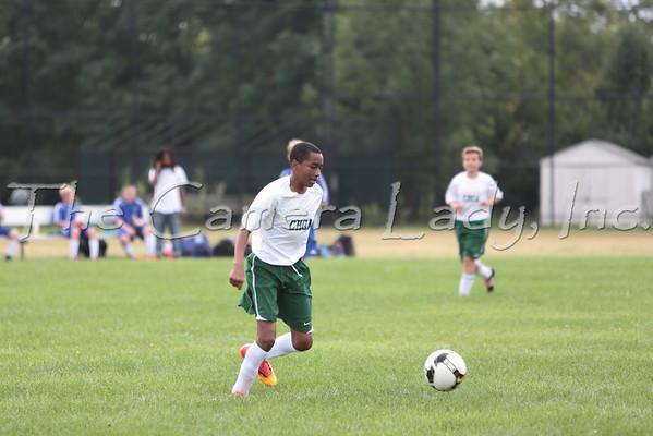 CHCA 2014 MS Soccer vs 7Hills 09.02