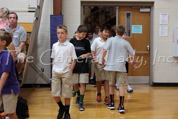 CHCA MS 5th Grade Welcome Chapel 08.22