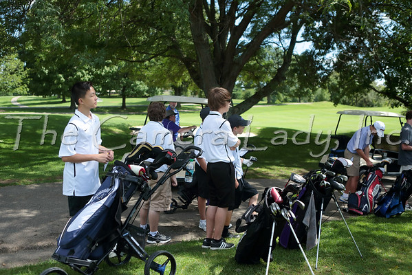 CHCA 2015 Boys JV Golf vs Summit 08.20