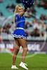 Canterbury Bankstown Bulldogs cheerleaders