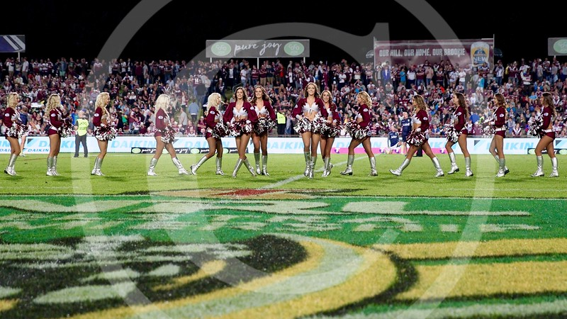 Manly Warringah Sea Eagles cheerleaders
