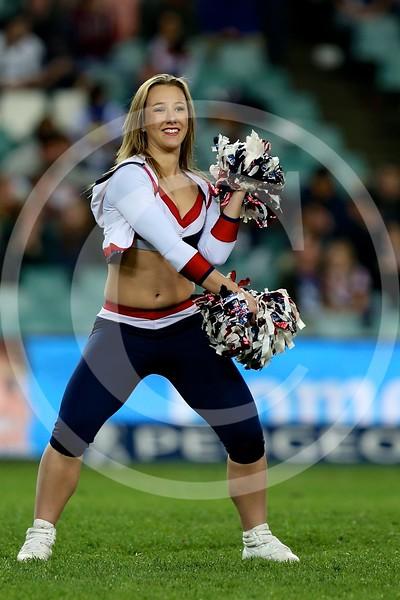 Sydney Roosters cheerleaders