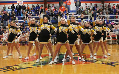 2011-2012 Goreville High School Cheerleading