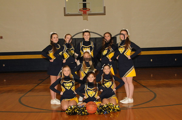 WMS Cheer Winter 2014-15