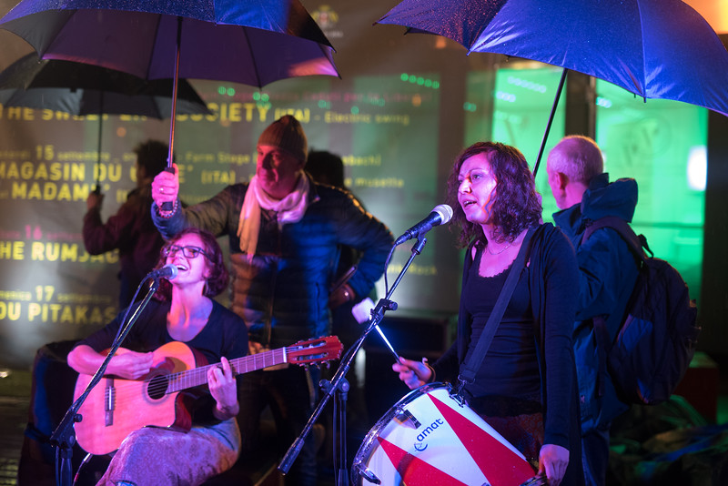 Cheese by night / Concerto Magasin du cafe' & Madame'