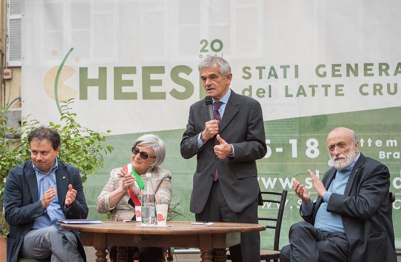 Inaugurazione Cheese 2017
