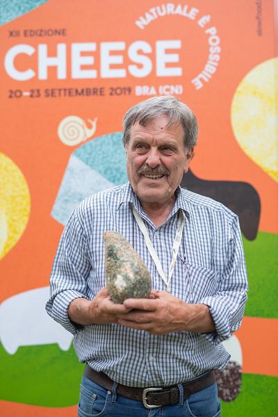 Italia dei Presìdi - Luigi De Carolis, ricotta salata della Valnerina, Umbria