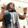 Chelmsford All Town Wind Ensemble was preparing to perform at the National Band and Orchestra Festival at Carnegie Hall in New York City in March at McCarthy Middle School on Wednesday night. Conducting tha band during the practice is co-director Allison Lacasse.  SUN/JOHN LOVE
