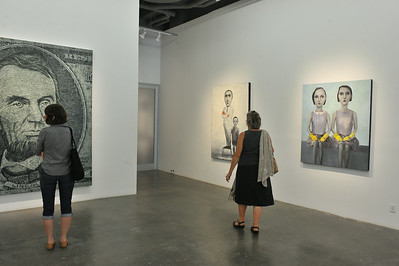 CHELSEA  ART  DISTRICT  2014   /    On-Going  Art Exhibitions  (August)   -    Manhattan  NYC