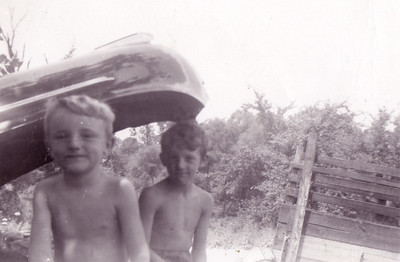Doug and Me (and Dad's '42 Pontiac)