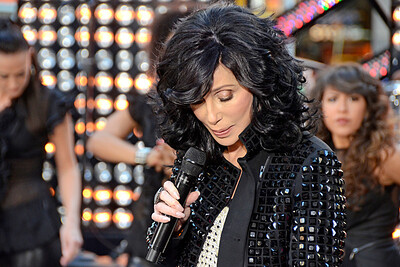 CHER Performing Live at NBC's TODAY Show Concert Series on September 23, 2013 at Rockefeller Center in NYC. Photos by Lukas Greyson/PatrickMcMullan.com  **Images can be seen via GREYSONEVENTS.COM**