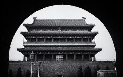 The ancient-walled city of Pingyao, China.  2012.