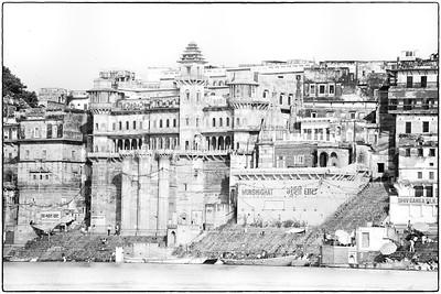 Banks of the Ganges, Varanasi, India.  2015.