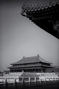 It truly is an honour to visit the Forbidden City - Beijing, China.  2012.