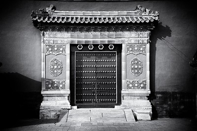 Even the simplest of doorways in the Forbidden City commands attention - Beijing, China.  2012.