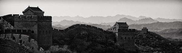 The seemingly never-ending Great Wall, Simatai, China.  2012.