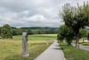Walking path in Broc