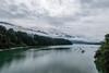 Foggy Mountains & Boats on Sarine